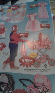 spindelmannen med barnvagn